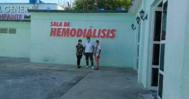 Reabre sala de hemodiálisis en Songo – La Maya