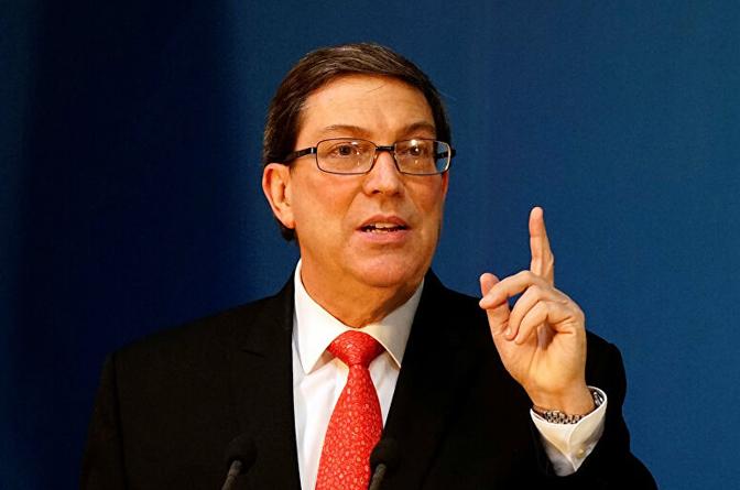 Canciller de Cuba rechaza obstáculos de EE.UU. a remesas